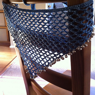 Ravelry Simple Chain Stitch Lace Shawl Pattern By Unique