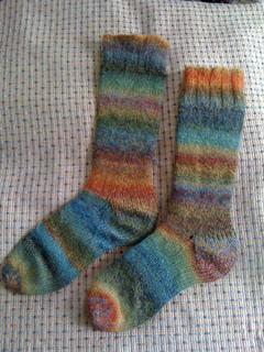Ravelry: Classic Socks on Circular Needles pattern by ...