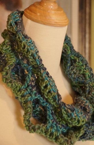 Ravelry Butterfly Infinity Scarf Pattern By Michael Sellick