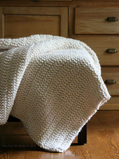 Easy Knitting Patterns For Throw Rugs : Ravelry: The Boulevard Blanket pattern by Fifty Four Ten Studio