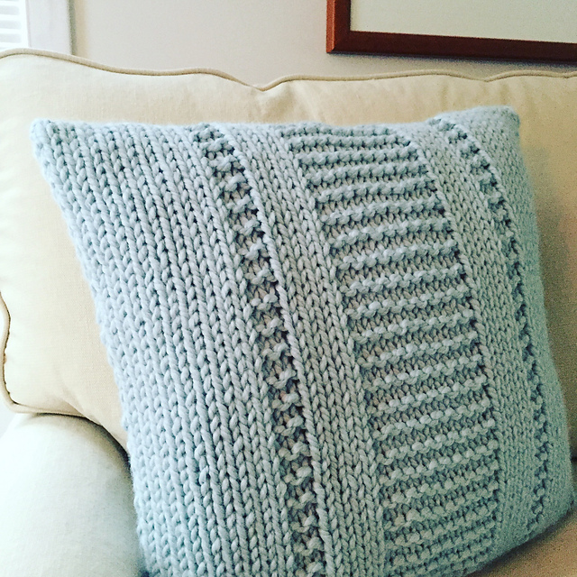 Ravelry The Parkway Pillow Pattern By Fifty Four Ten Studio
