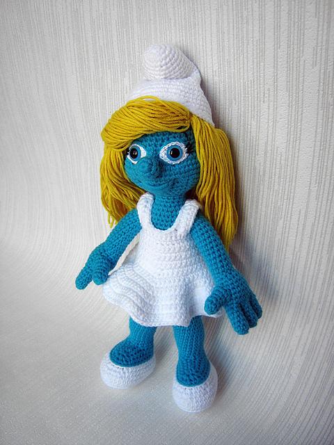 Ravelry: Smurfette from the Smurfs pattern by Anna Vozika