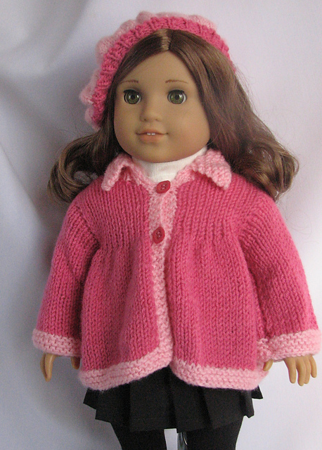 Ravelry Spring Flared Sweater For American Girl Dolls Pattern By