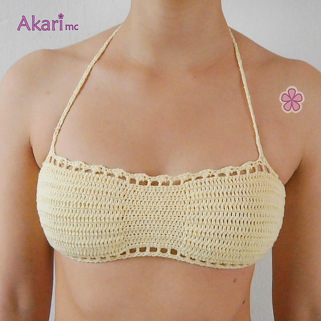 Ravelry 4 Crochet Bikini Tops Pbk3 Patterns