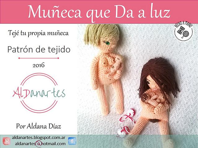 Ravelry: Muñeca que da a luz pattern by Aldana Diaz (Aldanartes)