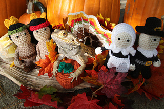 Ravelry pilgrims and indians pattern by shelley bunyard for Crochet crafts that sell well