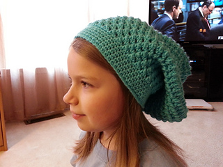 460a8e5568c Ravelry  Meladora s Butterfly Stitch Slouch Hat pattern by Meladoras  Creations