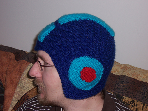 Ravelry Mega Man Helmet Pattern By Trinity Muller