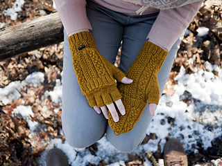 ee19a62d724c Ravelry  Cabled Dad Mittens pattern by Alexis Winslow