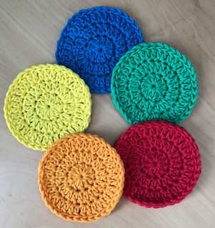 Ravelry Reusable Face Scrubbies Pattern By Ali Crafts Designs