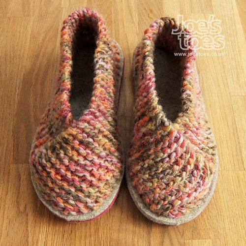 Ravelry Cross Over Knitted Slipper Pattern By Amanda Blackwell