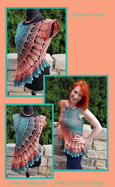 Ravelry Spiderdream Pattern By Alina Dalichau
