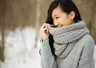 e085cb0fb1c Ravelry  Braided Cabled Cowl pattern by Stephanie Jessica Lau