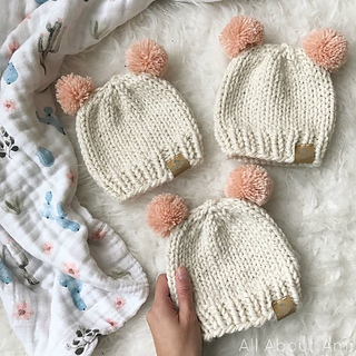Ravelry  Basic Knitted Baby Hat pattern by Stephanie Jessica Lau fe4eb622886