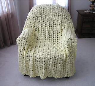 Ravelry Luscious Lace Blanket Pattern By Roseanna Beck
