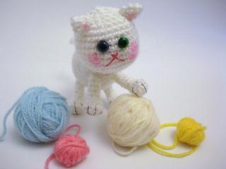 Ravelry Amigurumi Cat : Ravelry: Amigurumi Cat pattern by AllSoCute Amigurumis
