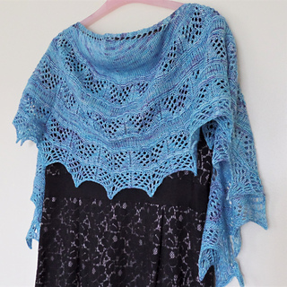 Paradise Bay Shawl