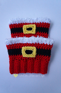 Ravelry Holiday Cheer Boot Cuffs Pattern By Raelynn Orff
