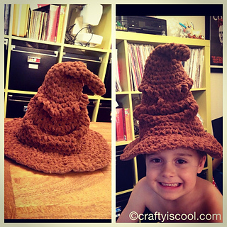 Ravelry  Harry Potter Sorting Hat pattern by Allison Hoffman 5923034fe4a