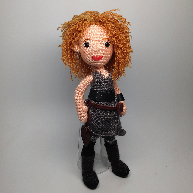 Ravelry River Song Doctor Who Amigurumi Pattern By Allison Hoffman
