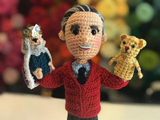 Ravelry  Mr. Rogers w Daniel Tiger and King Friday pattern by Allison  Hoffman dd0d5a6c8cb