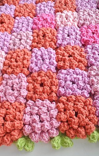 Ravelry Flower Blanket Pattern By Jane Green