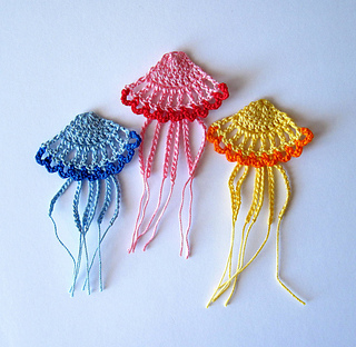 Crochet Pattern Jellyfish