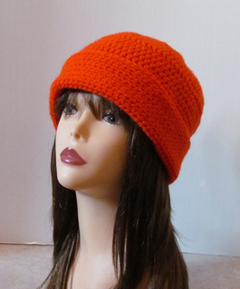 82065828561 Ravelry  Blaze Orange Hunting Beanie pattern by Kristine Mullen