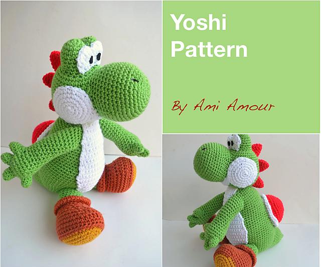 Ravelry Yoshi Amigurumi Pattern By Ami Amour Stunning Amigurumi Patterns