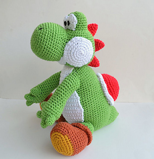 Yoshi Amigurumi Ravelry : Ravelry: Yoshi Amigurumi pattern by Ami Amour
