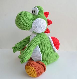 Ravelry: Yoshi Amigurumi pattern by Ami Amour