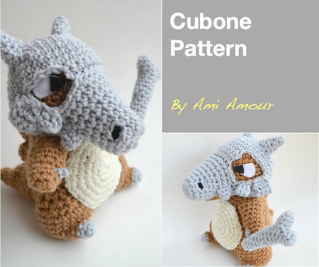 Ravelry: Cubone Pokemon pattern by Ami Amour