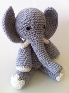 Ravelry E Is For Elephant Pattern By Ami Amour