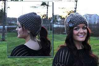 6d7ccb48d66 patterns   Amie Moore s Ravelry Store.   Clever Little Toque