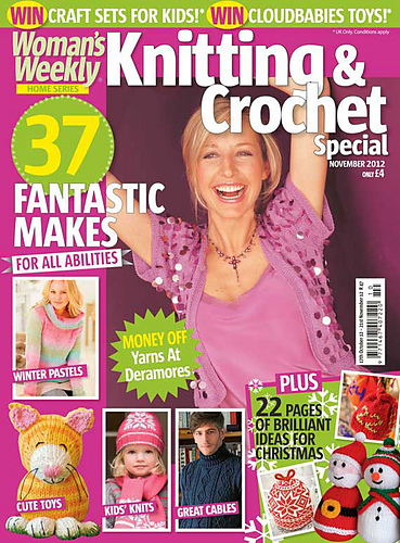 Ravelry Womans Weekly Knitting Crochet Special November 2012