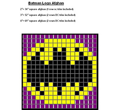 Ravelry Batman Logo Quilt Pattern By Skullchick