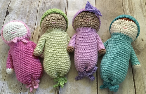 Ravelry Baby Doll Set Pattern By Amy Gaines Best Crochet Baby Doll Pattern
