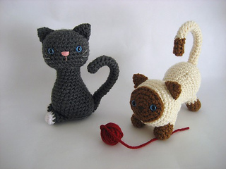 Amigurumi Kitten Patterns : Ravelry kitten amigurumi pattern by amy gaines