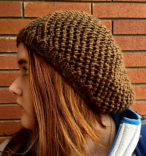 c2e9d024bbc608 Ravelry: Snow Days Slouch Hat pattern by MaryAnn Designs