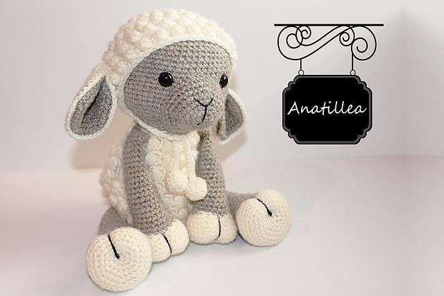 Ravelry Amigurumi Lamb Sheep Pattern Pattern By Anat Tzach