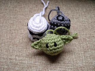 Ravelry Star Wars Inspired Ornaments Pattern By Andy Collins