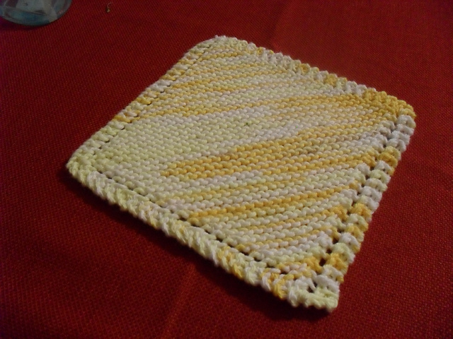 Ravelry Basic Knitted Dishcloth Pattern By Jane Lake