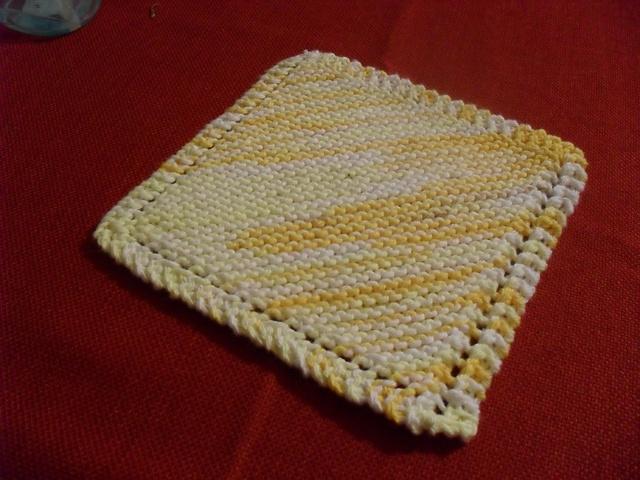 Ravelry Basic Knitted Dishcloth Pattern By Jane Lake