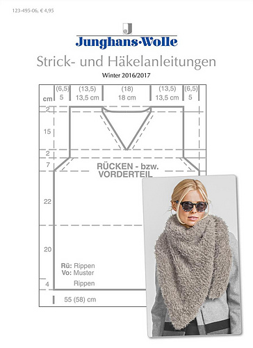 Ravelry Junghans Wolle Anleitungsheft Winter 2016 2017