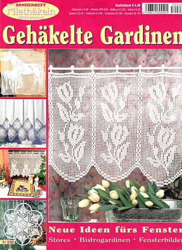 ravelry sonderheft fi 220 geh kelte gardinen patterns. Black Bedroom Furniture Sets. Home Design Ideas
