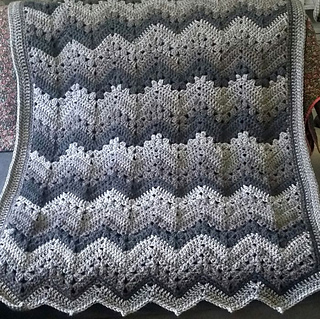 Ravelry 6 Day Kid Blanket Pattern By Betty Mcknit