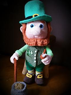 Ravelry  Paddy the Leprechaun pattern by Angel s Creations Crochet 3096ef62438