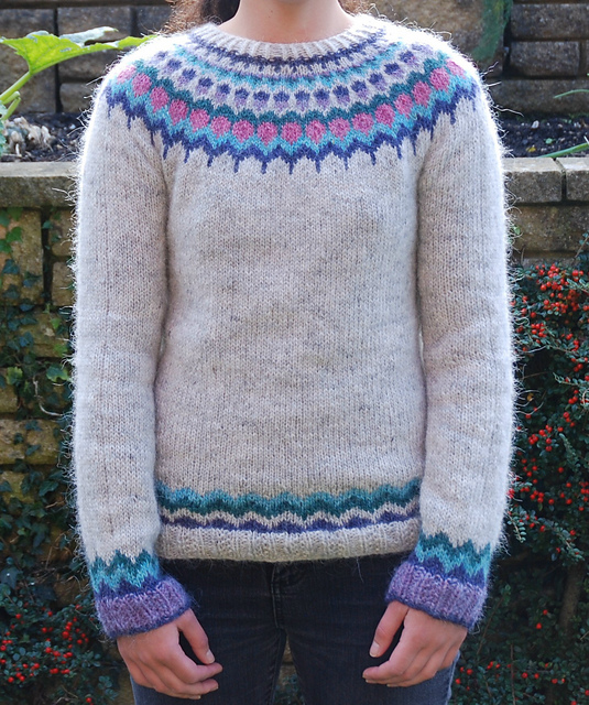 Ravelry Annas Lopapeysa Pattern By Anna Lewis