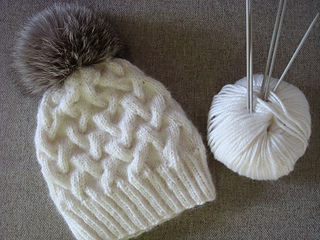 Ravelry  Winter Cable Hat pattern by Annanitato Lolo 7b8f621f758
