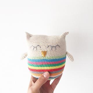 Ravelry Abby The Owl Pattern By Annemarie Benthem
